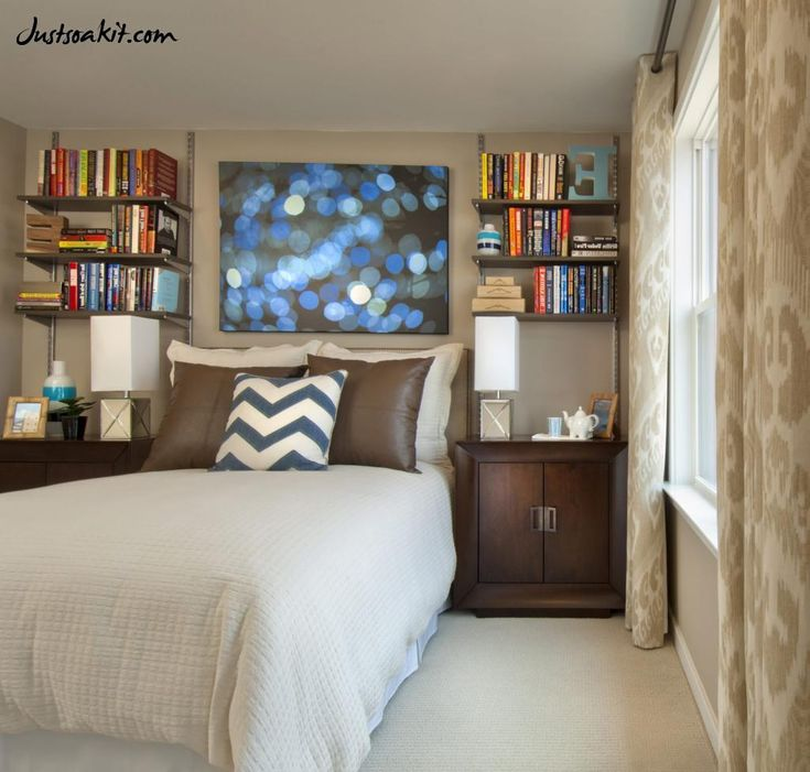 1000 ideas about narrow bedroom on pinterest long for Small master bedroom ideas pinterest