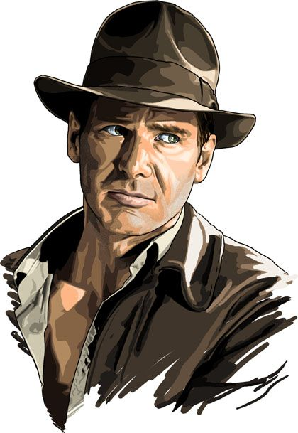 Harrison Ford (Indiana Jones)  -  by Brian C. Roll