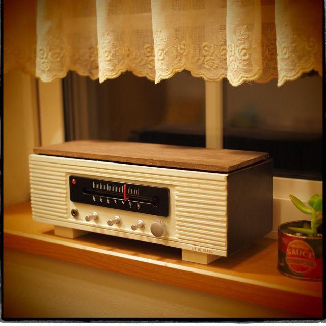 新作出来ました❗️/ラジオフライヤーの次は/ラジオ風BOX/yukoさん/リメイク…などのインテリア実例 - 2015-02-14 19:05:21 | RoomClip(ルームクリップ)