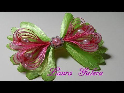 Hearts bow on ribbons Moño corazones en cintas Laço com corações em fita - YouTube