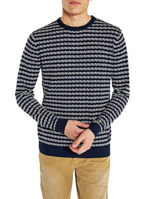 MINIMALISTIC PULLOVER, Dress Blues