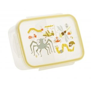 Good Lunch Box 3 Compartment Divided Lunch Container $6.99 Divided 3 compartment lunch container keeps food separated,  Kid-friendly, easy-open lid.  Good Lunch® Boxes eliminate the need for plastic bags and keeps food separated and simple. Packs a three-course meal in one easy step.