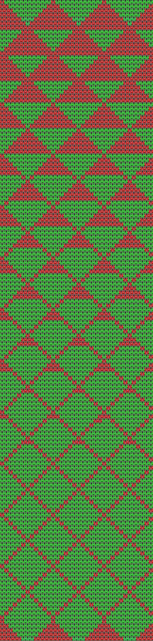 This would be great in double knitting - wonder if I could work it as a mosaic?