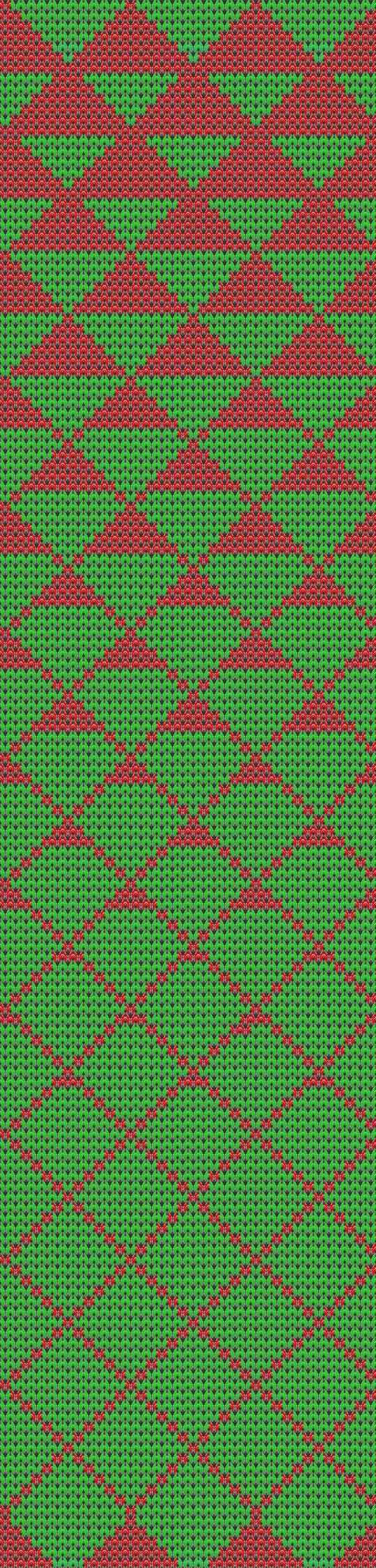 Driehoekjes oplopend van klein naar Groot