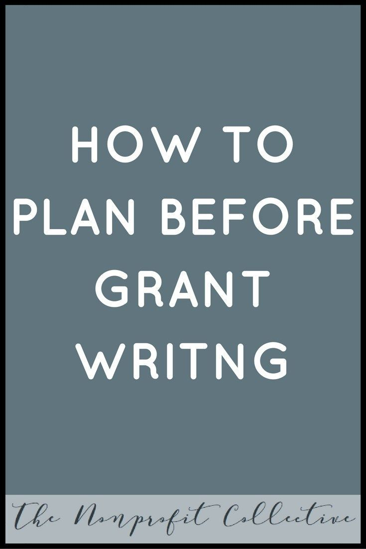 It is key to plan before you start grant writing for a new program or project in your nonprofit organization. What should you plan? Find out inside.