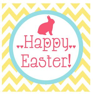 107 best springeaster printables images on pinterest easter free printable easter gift tags negle Images
