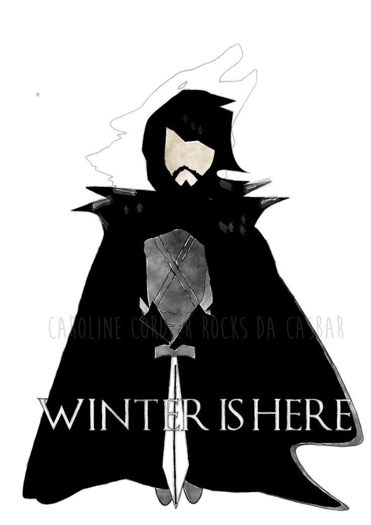 Winter+Is+Here,+Jon+Snow