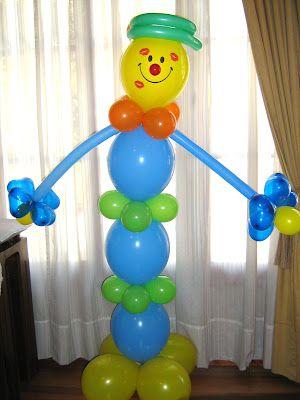 """""""Ideas, locuras y creaciones"""": Lindos arreglos con globos"""