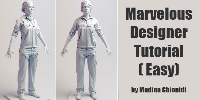 Marvelous Designer Tutorial - Easy by Madina Chionidi MADINA CHIONIDI is a Character Artist at EA DI