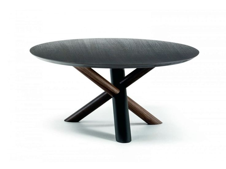 ooden coffee table W Collection by Bross Italia design Luciano Marson