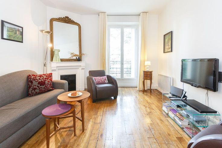 A calm oasis to return to after a long day of exploring Paris, Serene Caulaincourt is a unique apartment offering modern comfort with classic touches that are sure to appeal. What really makes this apartment stand ...