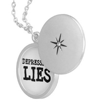 Depression Lies Necklace