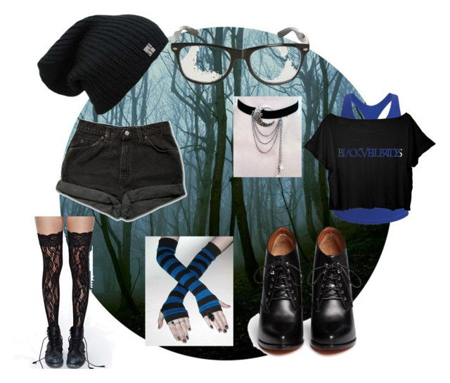 Jet black heart by stelamahomie on Polyvore featuring Black Diamond, Levi's, Givenchy, women's clothing, women's fashion, women, female, woman, misses and juniors