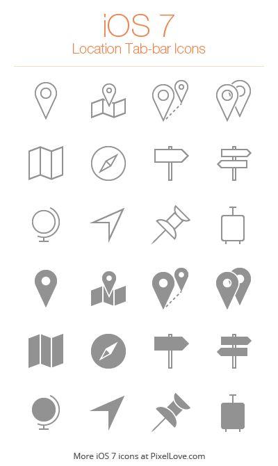 Location Icon Iphone