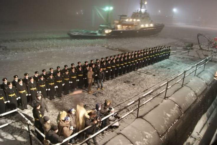 Alexander Nevsky (The second Borei class submarine)
