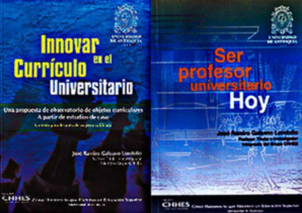Dos de los libros de la obra del Profesor José Ramiro Galeano Londoño.