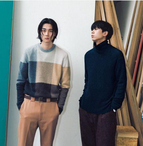 柳俊太郎 &高橋義明 | MEN'S NONNO SEPTEMBER 2015