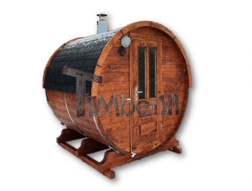 Sauna A Botte All'aperto + Vernice Per Legno (1)