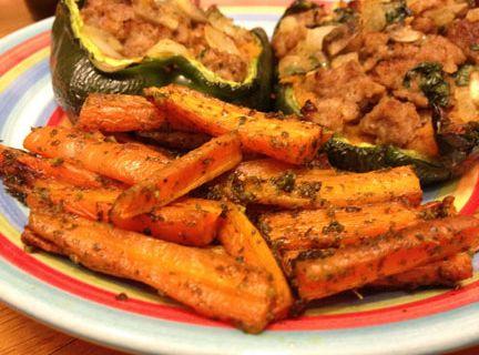 spicy cilantro carrot fries: Spicy Cilantro, Carrot Fries, Side Dishes, Cilantro Carrots, Carrots Fries, Cilantro Pesto, Fabulous Recipes, Yum Yum, Paleo Side