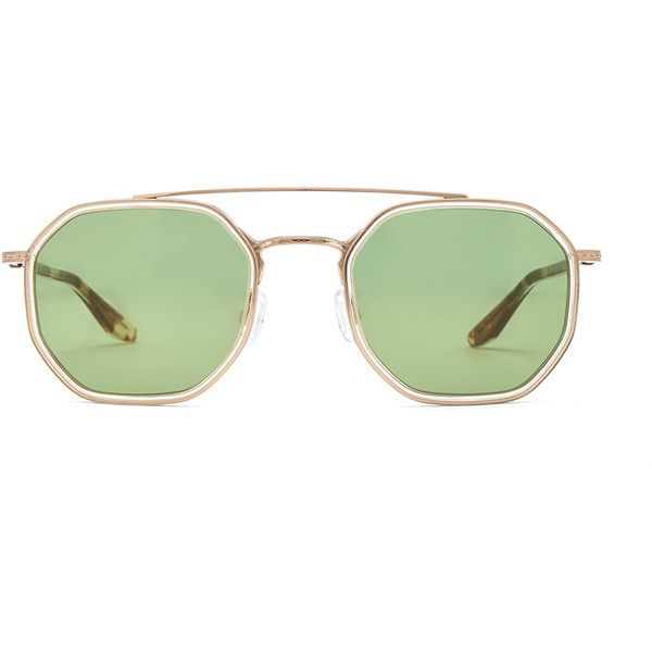 Barton Perreira Themis Sunglasses (695 CAD) ❤ liked on Polyvore featuring accessories, eyewear, sunglasses, titanium frame glasses, barton perreira eyewear, lens glasses, barton perreira glasses and acetate sunglasses