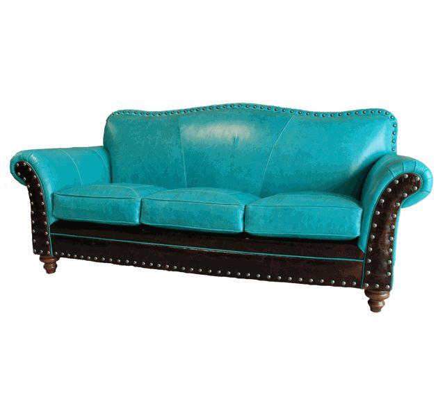 Albuquerque Turquoise Sofa