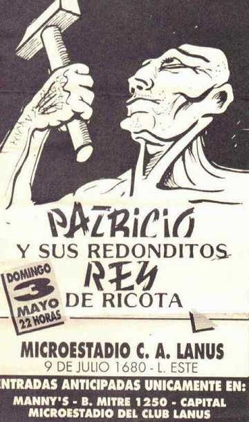MICROESTADIO DE LANUS - DOMINGO 3/5/1992