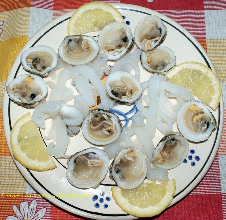 typical appetizer from Puglia