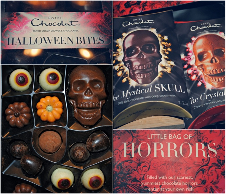 Hotel Chocolat halloween chocolate