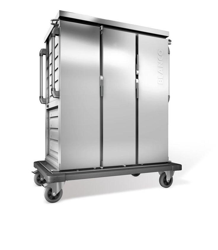 GTARDO.DE:  Tablettwagen 30 GN, einwandig, 3 Schränke mit Flügeltüren, BxTxH 1419x783x1636 mm 3 287,00 €