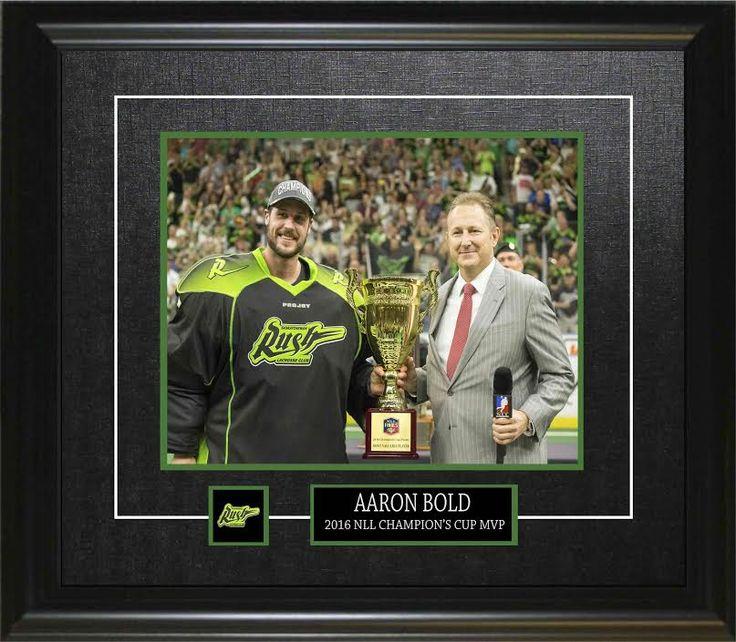 """AARON BOLD """"MVP"""" FRAMED 8X10"""