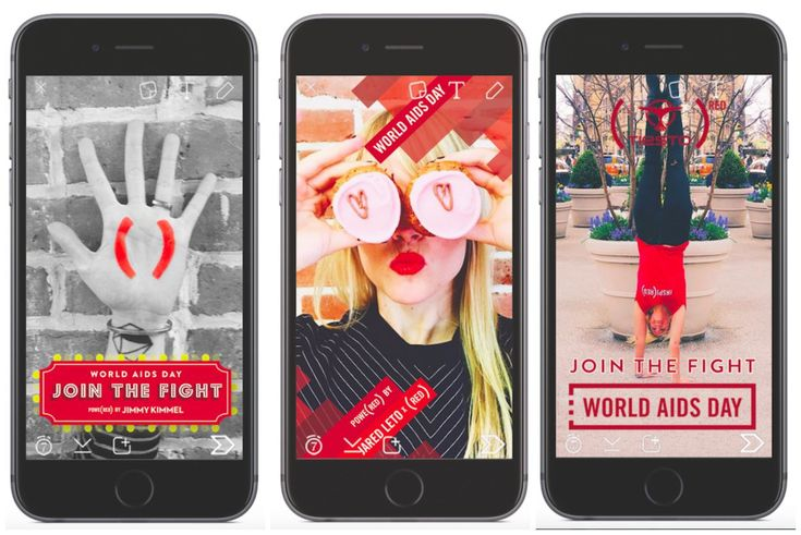 Social media for a cause! Find out how you can partner with YouTube, Instagram and Snapchat to raise money on World AIDS Day, December 1.