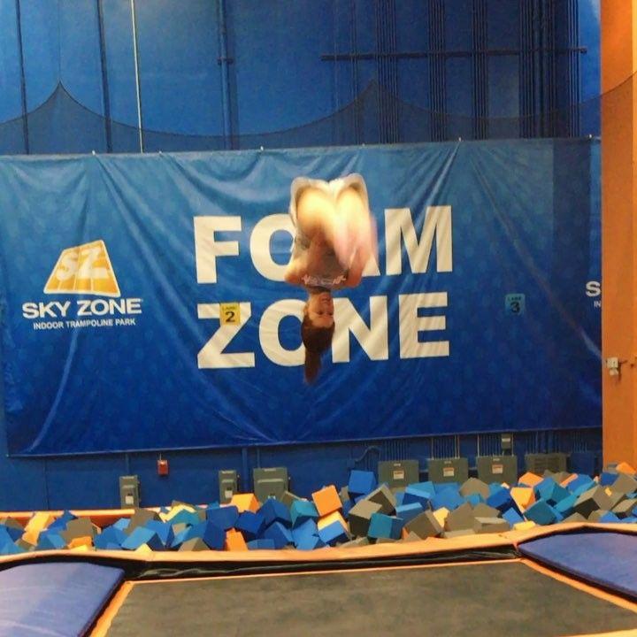 Still got it #skills - - - - - #gymnastics #trampoline #skyzone #fulllayout #imnotagymnast #luckytobealive #boomerangoftheday #boomerang #vidoftheday #instadaily #instagood #whatwasithinking #27 #stillgotit #babysitting