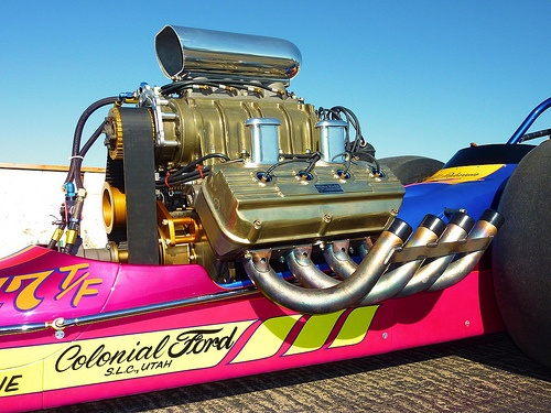 This is the Serious Part - 1971 Iron Horse Top Fuel Dragster