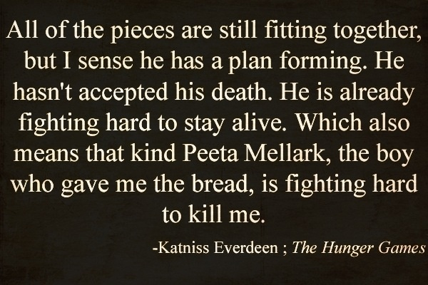 hunger games relationship quotes
