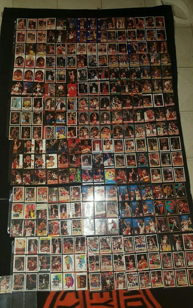 Huge Basketball card lit Atlanta Hawks 271 cards no duplicates in Sports Mem, Cards & Fan Shop, Cards, Basketball | eBay