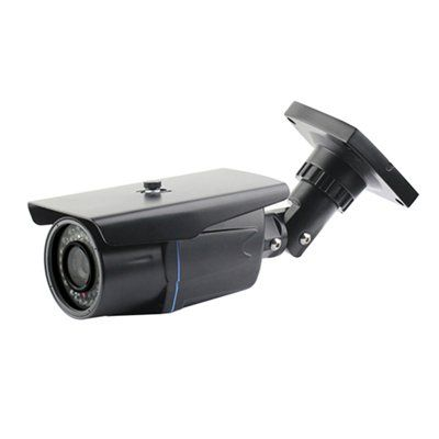 Seqcam SEQ10214 42-LED Black Weatherproof IR Color Security Camera