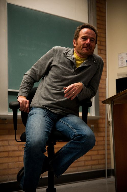Bryan Cranston I think he is so so so handsome!