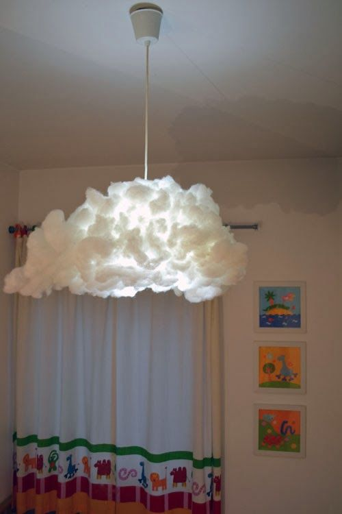 mommo design: IKEA HACKS FOR KIDS - Cloud from Varmluft lampshade
