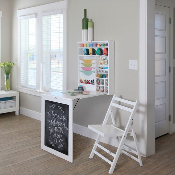 10 ideas about wall mounted table on pinterest fold down desk fold down table and wall bar. Black Bedroom Furniture Sets. Home Design Ideas