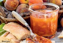 Confiture de pêches et carottes potagères