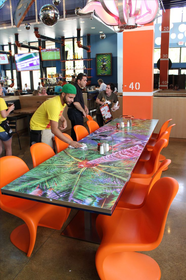Mellow Mushroom Dining Room Tables Made With Formica Envision Inspiration Laminate Dining Room Tables Design Ideas