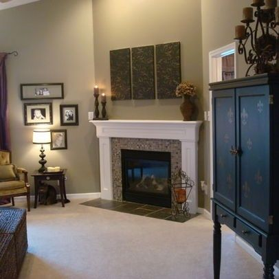 Sherwin williams paint ideas color is stone lion love for Fireplace paint color ideas
