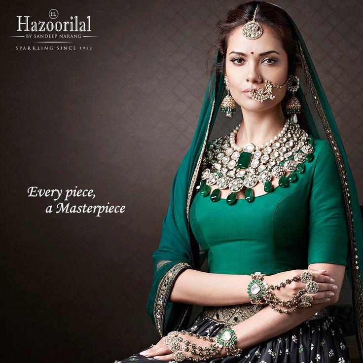 Royal Road -Meet the new crown jewels from the House of #HazoorilalBySandeepNarang  #HazoorilalCampaign #EveryPieceAMasterpiece @egupta #Emeralds #Polki #BridalJewellery #JewelleryTrendsetters #ItcMaurya #DlfEmporio #HazoorilalJewellers #Hazoorilal