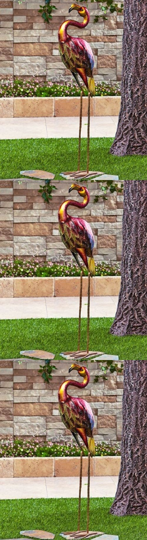best 25+ pink flamingos lawn ornaments ideas on pinterest