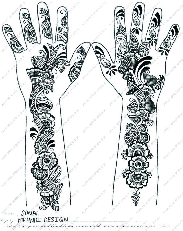 mehandi designs | Arabic Mehndi Designs for Girls – Beautiful Henna Patterns