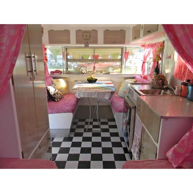 retro caravan interior retro caravan ideas d d. Black Bedroom Furniture Sets. Home Design Ideas