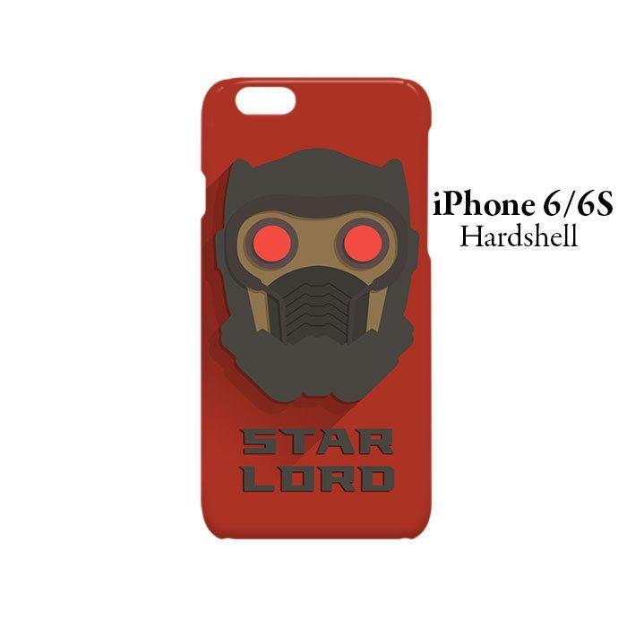 Star Lord Superhero iPhone 6/6s Hardshell Case
