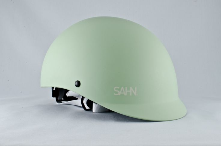 SAHN Classic Matte Jade helmet, vintage Dutch bicycles from BEG