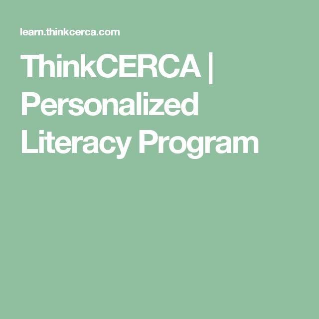 ThinkCERCA | Personalized Literacy Program