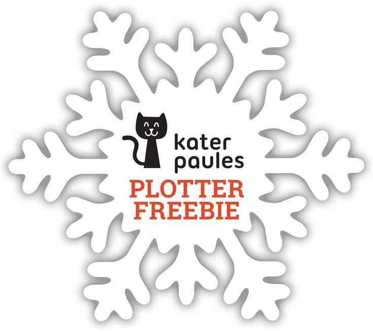 Kater Paules Plotter Freebie | SnapPap | Baumschmuck | Weihnachtsdeko |  Fensterschmuck